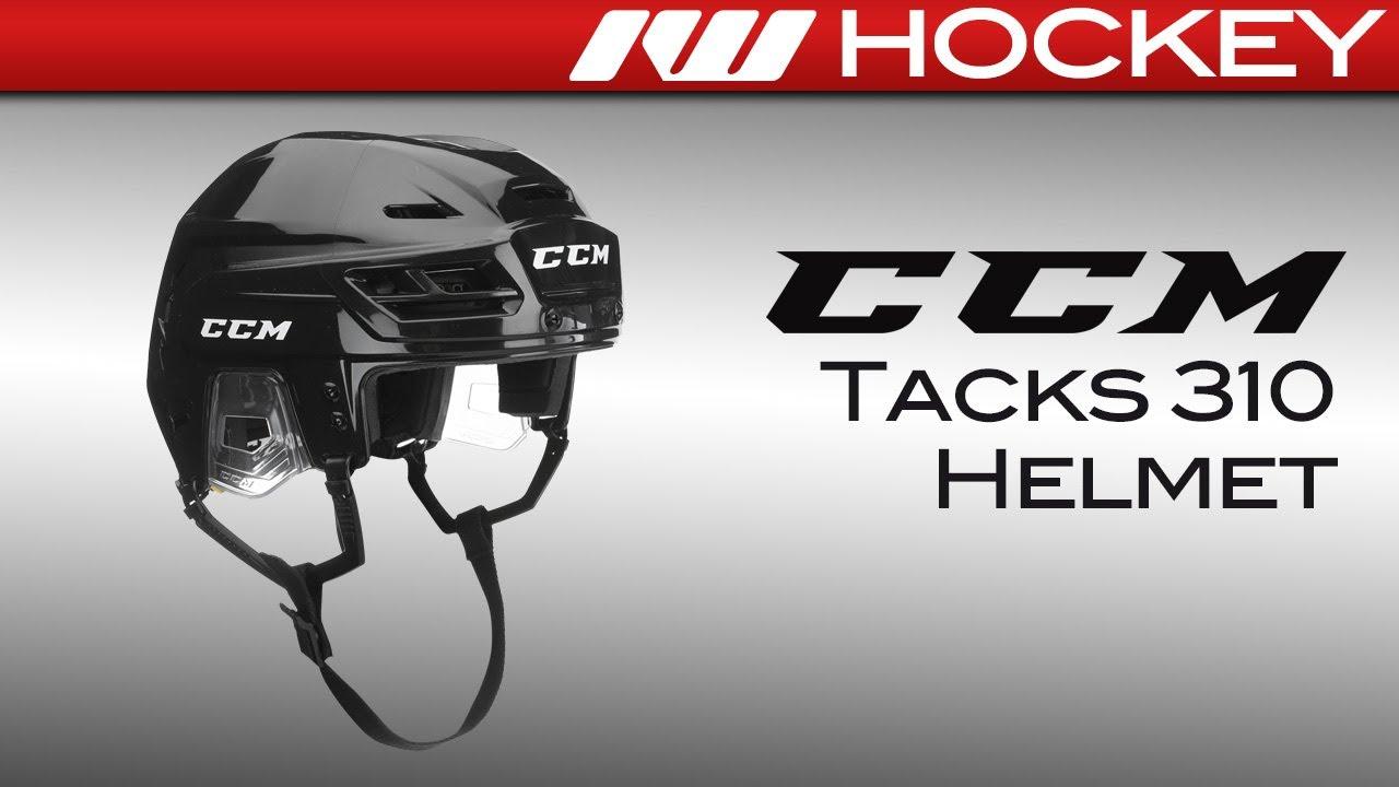 9c293bea832 CCM Tacks 310 Helmet Review - YouTube