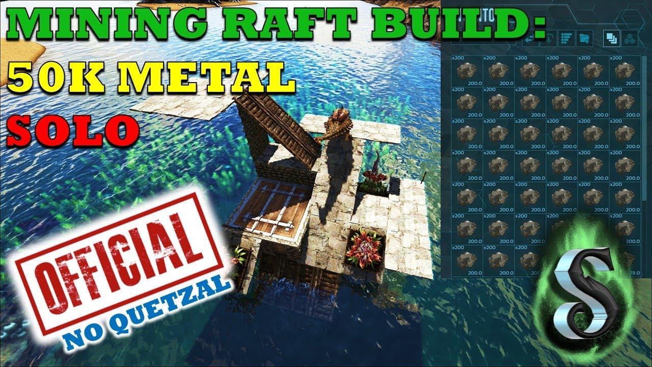 Ark ragnarok 50k metal solo farming low tech mining raft no ark ragnarok 50k metal solo farming low tech mining raft no quetzal no problem clipzui malvernweather Choice Image