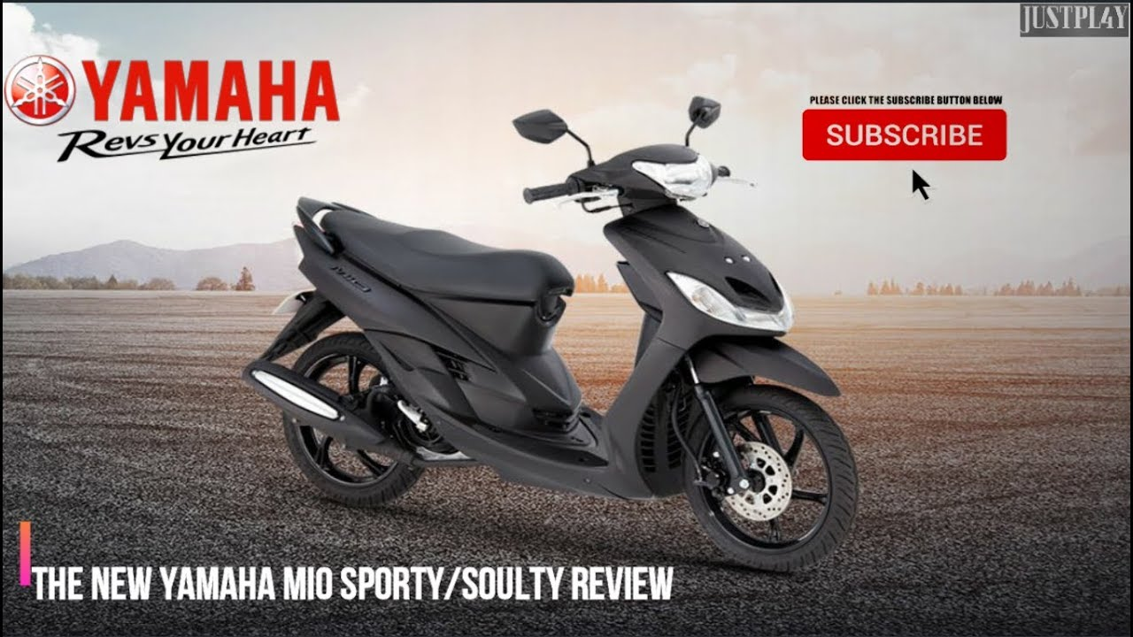Review Of Yamaha Mio Sporty Soulty This 2019  Quick Specifications Parts And Colors