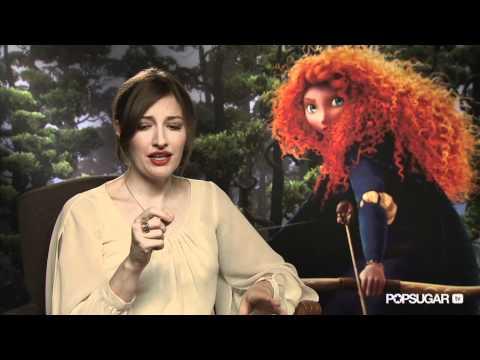 Brave's Kelly Macdonald On Being Pixar's First Heroine