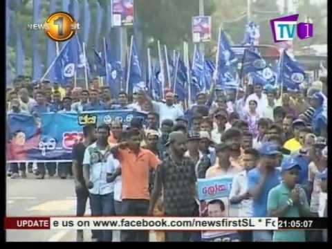 News1st SLFP-led UPFA May Day rally held in Kandy