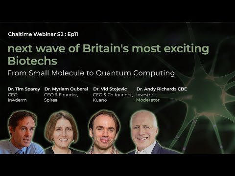Next wave of Britain's most exciting Biotechs - From Small Molecule to Quantum Computing...