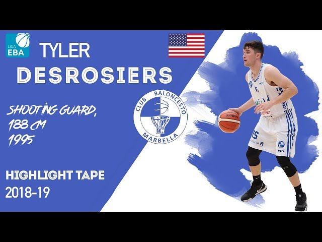 Tyler Desrosiers Highlight Liga EBA Spain 2018-19