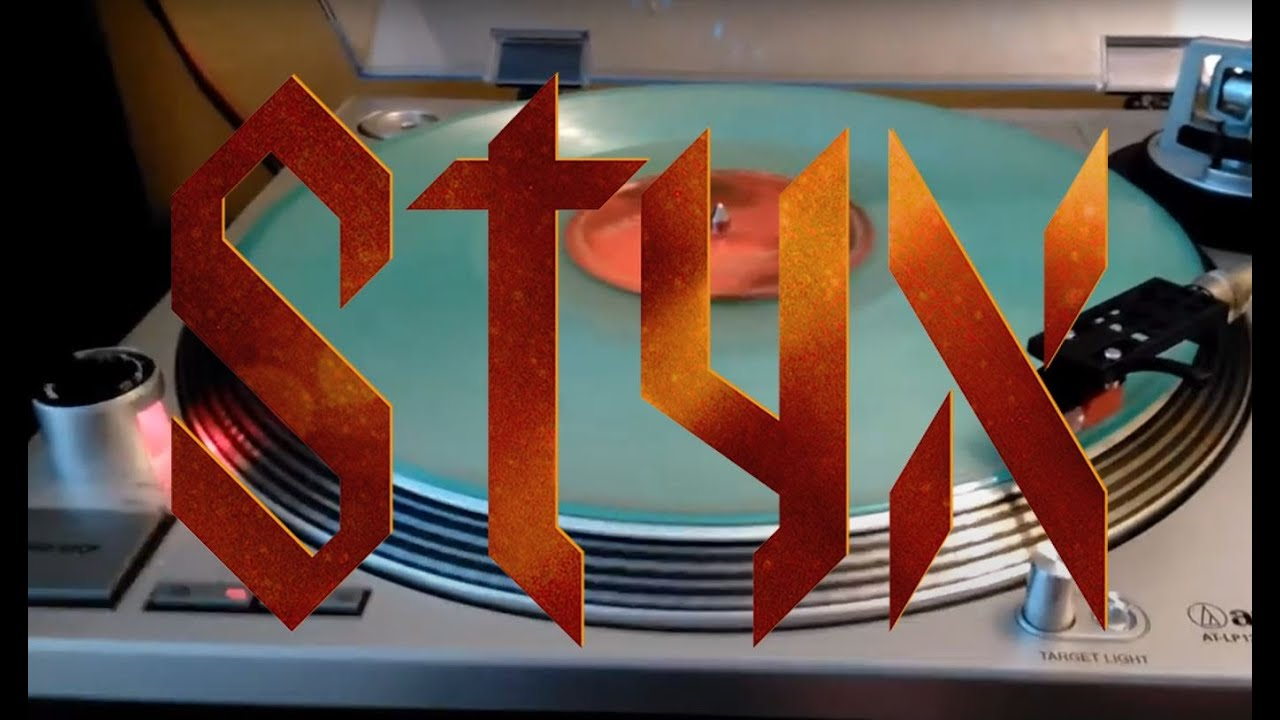 styx the mission clear vinyl record youtube