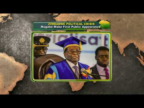Mugabe Makes First Appearance After Military Take-Over |Network Africa|