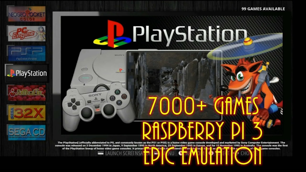 ds emulator raspberry pi 3