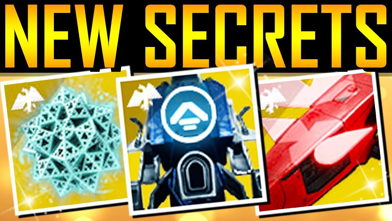 Destiny 2 - NEW TOWER SECRETS! Hidden Exotic! New Info! thumbnail