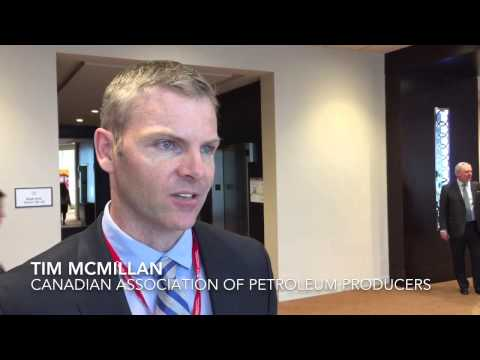 CAPP's Tim McMillan at the 2015 CAPP Scotiabank Investment Symposium
