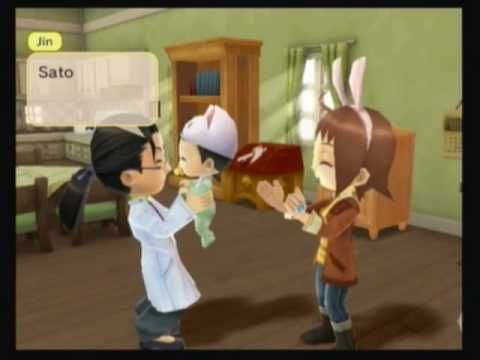 harvest moon ds how to get married