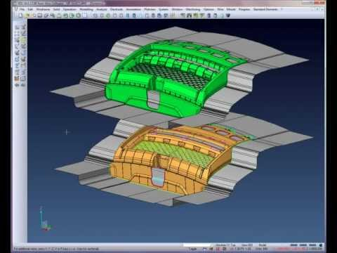 Automotive Core & Cavity creation - Step 7