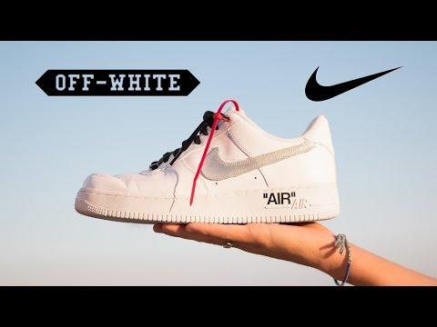 OFF-WHITE AIR FORCE 1 DIY (Complex Con)