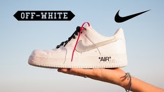 Making the OFF-WHITE Air Force 1 for $50! (How-To)