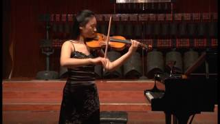 Bach partita for violin solo no.3 in E,BWV 1006 1.Preludio from Ziwei Li