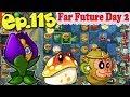 Plants vs. Zombies 2 (China) - Unlocked new Shrinking Violet - Far Future Day 2 (Ep.115)