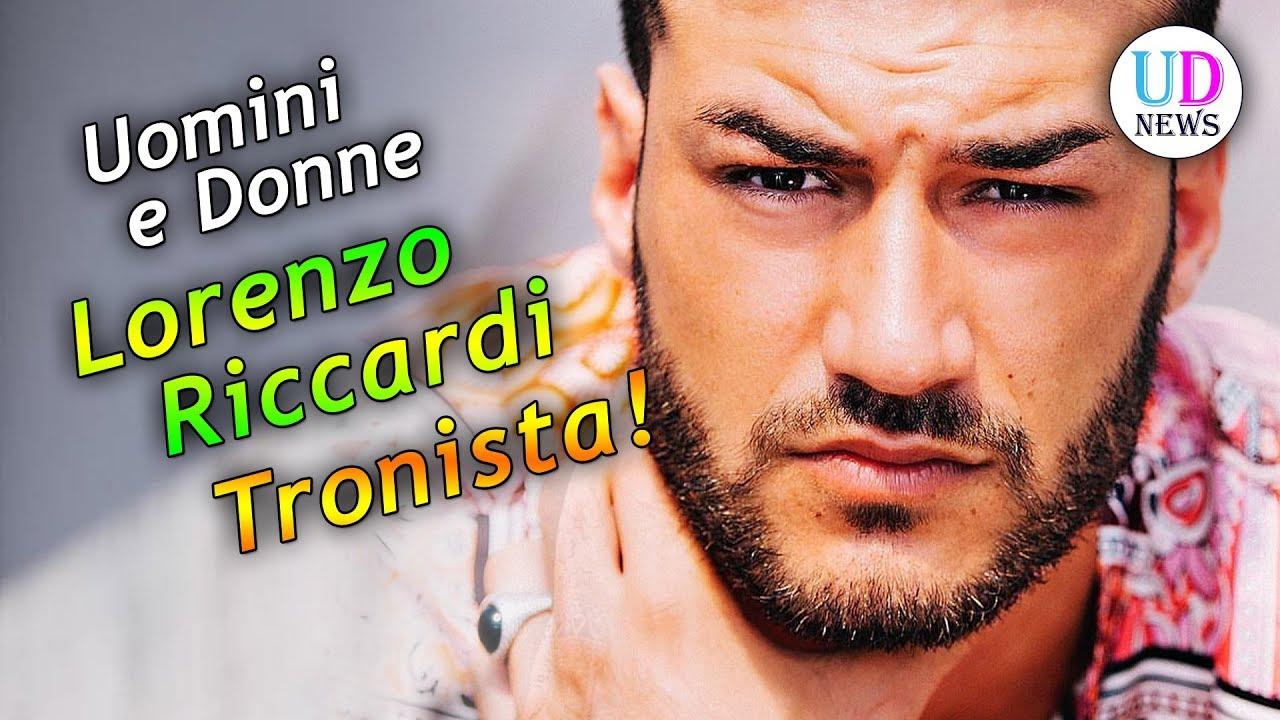 Lorenzo Riccardi Biografia Del Tronista Di Uomini E Donne