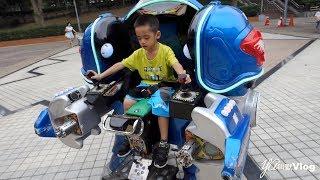 機器戰士、小火車、賽車、遊樂園…YA小寶還真玩不膩!@YA叫獸Vlog thumbnail