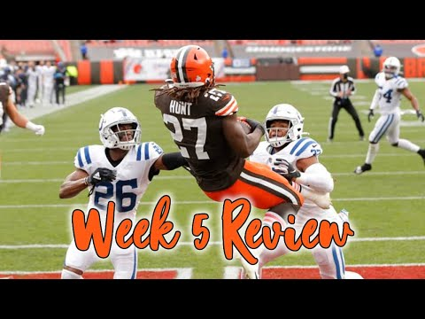 My detailed recap of every game from NFL week five