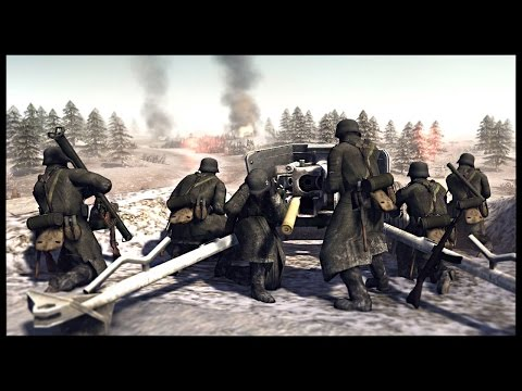 LSSAH City Defense - Battle of The Bulge | Men of War Assault Squad 2 Mod Gameplay
