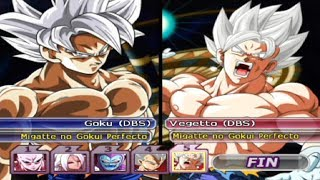 DRAGON BALL Z BUDOKAI TENKAICHI 3 VERSION LATINO FINAL GAMEPLAY LOTERIA 201