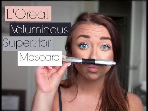 1966c9e806a NEW L'Oreal Voluminous Superstar Mascara| Review & Demo - YouTube