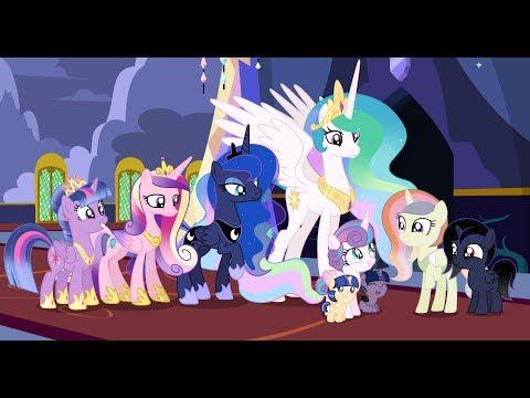 MLP[Next Gen](SpeedPaint) The First Meeting Of The Future Princesses