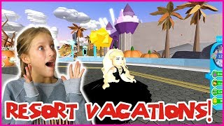 Going to a Luxury Resort!