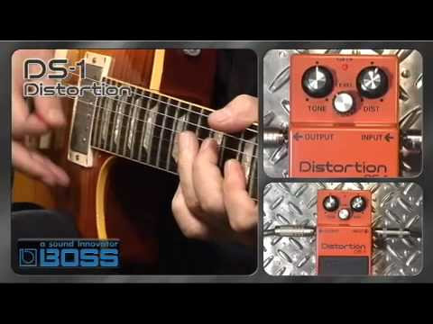 DS-1 Distortion [BOSS Sound Check]