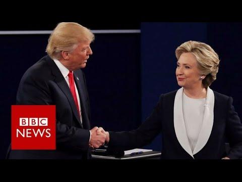 Trump v Clinton debate: Sex, lies and videotape - BBC News