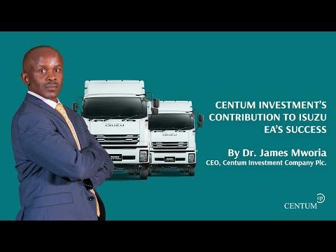 Centum Investment's Contribution to Isuzu EA's Success