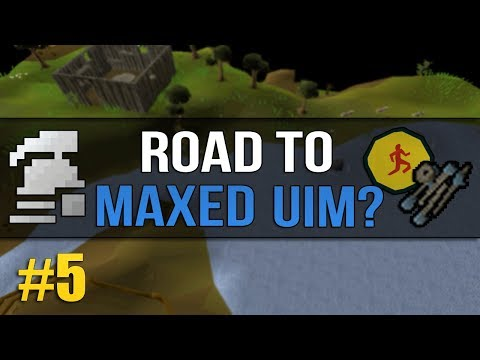 OSRS Ultimate Ironman (Road to Max?) #5 - Fishing Grind / Law Rune Shop