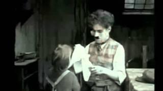 CHARLIE CHAPLIN & JACKIE COOGAN VINTAGE FILM - VATERSAY BOYS SONG - SONNY -