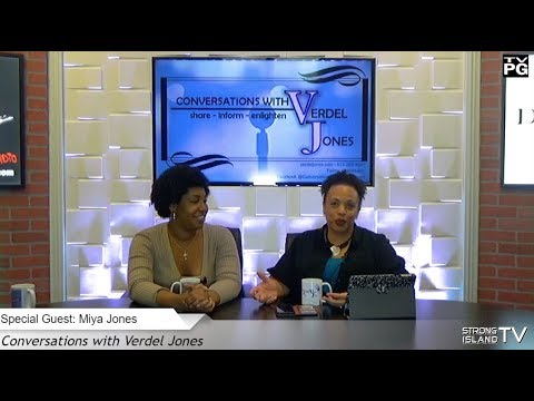 Conversations with Verdel Jones - Guests - Nature's Beauty Mix and Miya Jones