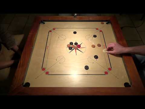 Carrom Final in Zurich, Pierre Dubois vs Carlito Bollin