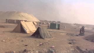 قناة السويس الجديدة: فيديو حصرى لمواقع وخيم العمال والحفر نوفمبر2014