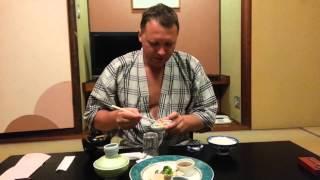 Традиционный японский Риокан , японский ужин и завтрак