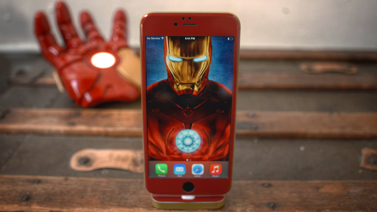 Iphone 7 Plus Live Wallpaper Iphone 6 Iron Man Edition Youtube