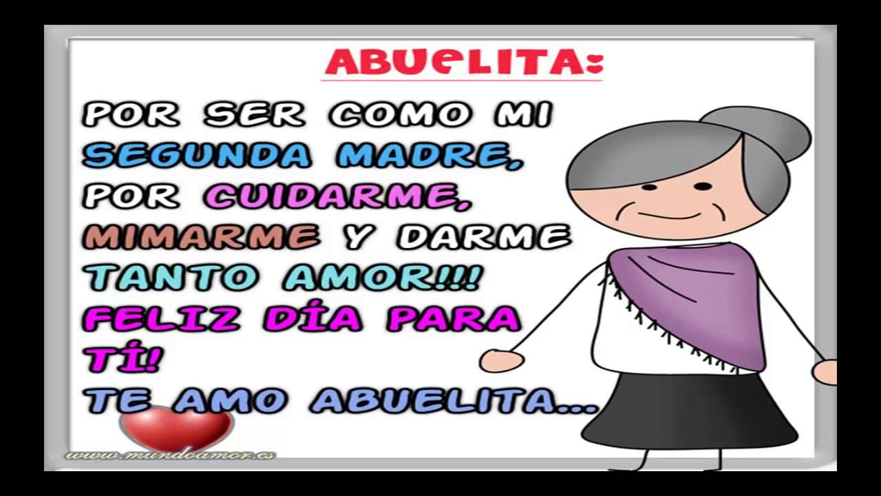 Tarjetas Feliz Dia De La Madre Abuelita 1 Saludos Con Frases Y