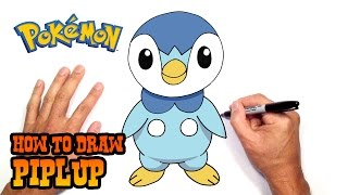 How to Draw Piplup | Pokemon