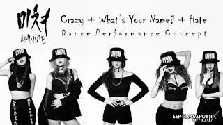 [AUDIO-DANCE PERFORMANCE CONCEPT] 포미닛(4MINUTE) - 미쳐(Crazy) +…