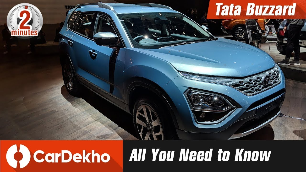 Tata Buzzard Harrier 7 Seater Expected Price Looks Features Specs In2mins Cardekho Com