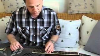 Waikiki Waltz (Hawaiian guitar, National Polychrome Tricone squareneck)