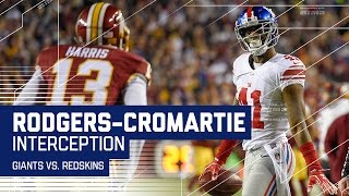 Rodgers-Cromartie Picks Off Cousins for 2nd Time to Seal the Win!   NFL Wk 17 Highlights
