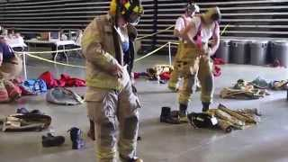 Rapid Dress At Nc Skills Usa State Firefighting Competition 2014 Time 18:44 Seconds