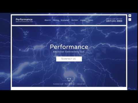 Web Development Performance Electrical Contractors LLC