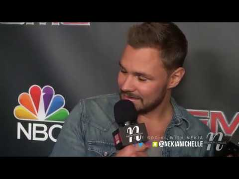 Patrick Flueger Drops The Mic & Reveals How He Is Like His Character On Chicago PD