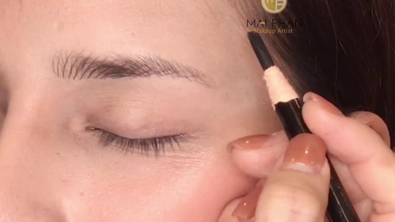 Cách vẽ lông mày gẩy sợi đẹp tự nhiên!