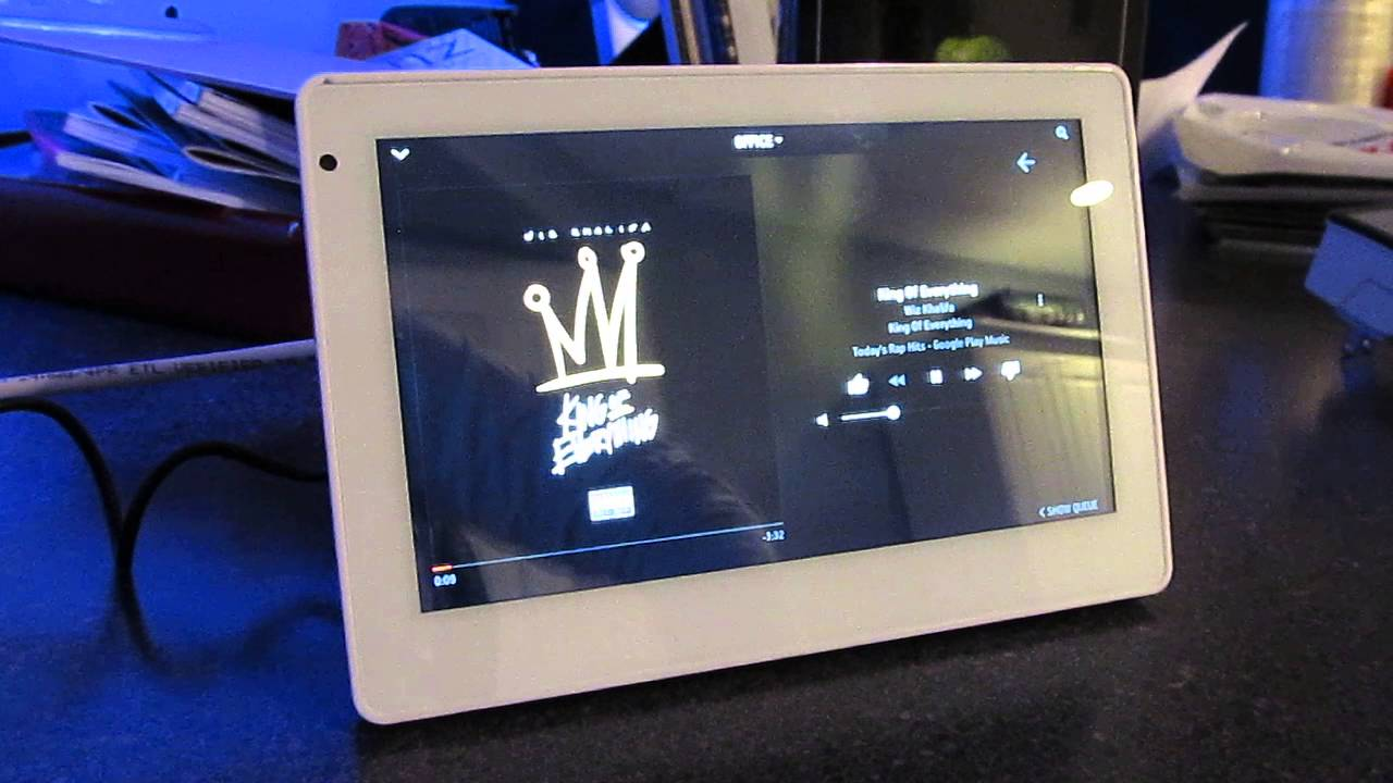 Sonos In Wall Tablet Controller Youtube