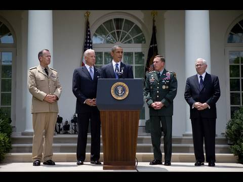 President Obama's Statement on General McChrystal and Afghanistan