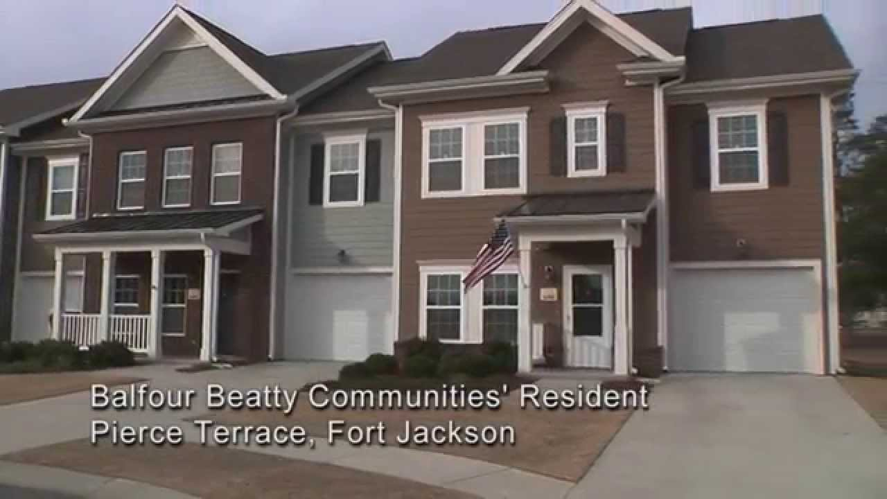 Fort Jackson Family Homes Pierce Terrace Youtube