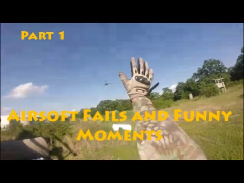 Airsoft Fails and Funny Moments | Part 1 | HSA Airsoft